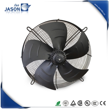 630mm External rotor Axial Fan with outline dimension 780x780x320mm
