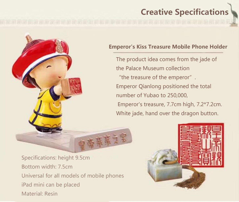 DELOVE Forbidden City Wenchuang Jinyiwei Mobile Lazy Creative Personality Mobile Phone Holder Bracket Bedside Desktop Universal,Pink