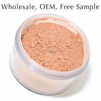 xmas wholesale exquisite mineral loose foundation powder 10 color makeup blush palette