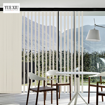 Luxury Classic Manual Sheer Shades Vertical Blinds And Curtains