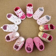 2015 Spring baby toddler First Walkers soft sole prewalker Shoes ,Newborn boys/girls bebe sapatos age 0-18 month R1161