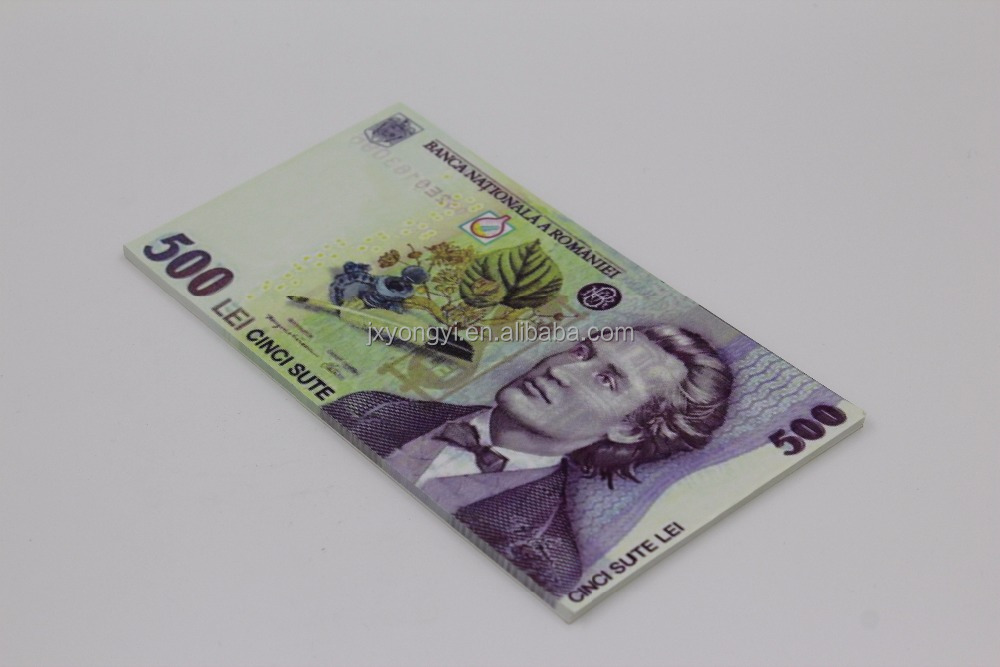 Fake Euro Notes Memo Pad For Promostion