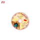 Custom cd dvd label sticker highly praised cd label