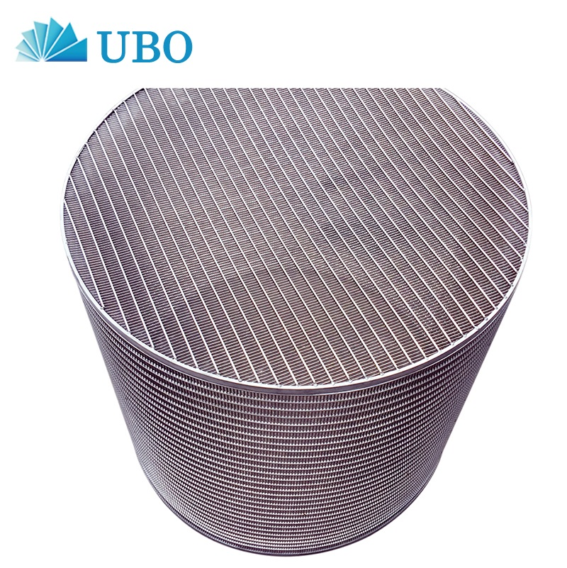 Wedge wire screen manufacturers stainless steel wire mesh paper machine screen basket