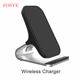 Foste Oem Customized 10w Automatic Induction Qi Wireless Charger Phone Holder Wireless Phone Charger