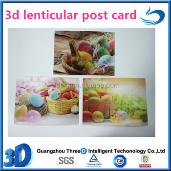 Top Quality 3d Lenticular Gift Card/post Card For Christmas - Buy ...