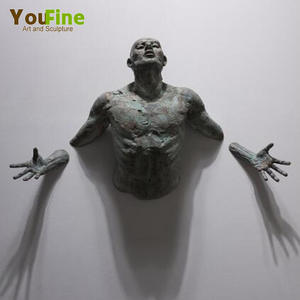 High Quality Decorative Stainless Steel Wall Art Sculpture