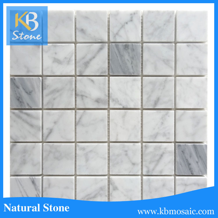 2016 new item water jet marble mosaic wall