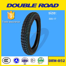 motorcycle tubeless tyres 3.00-17 size wholesale with factory price
