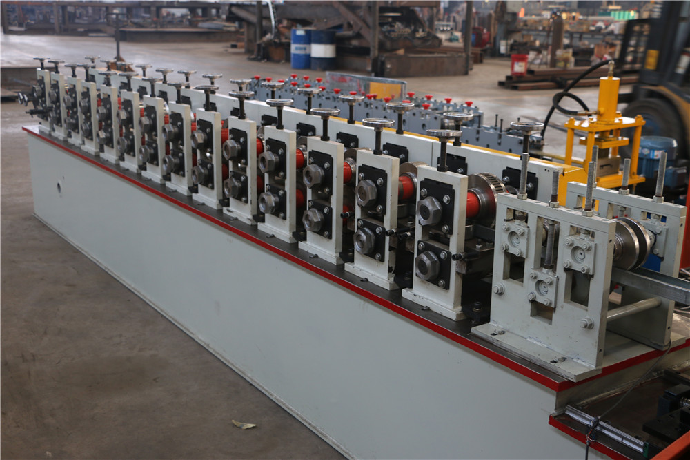 Double line gypsum board profile metal stud and track roll forming machine prices