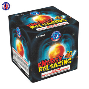 China wholesale SP2103 Energy Releasing 25 shots cake fountain fireworks