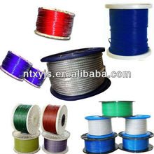 6x36 fc galvanized steel wire rope / 19x7 non-rotating