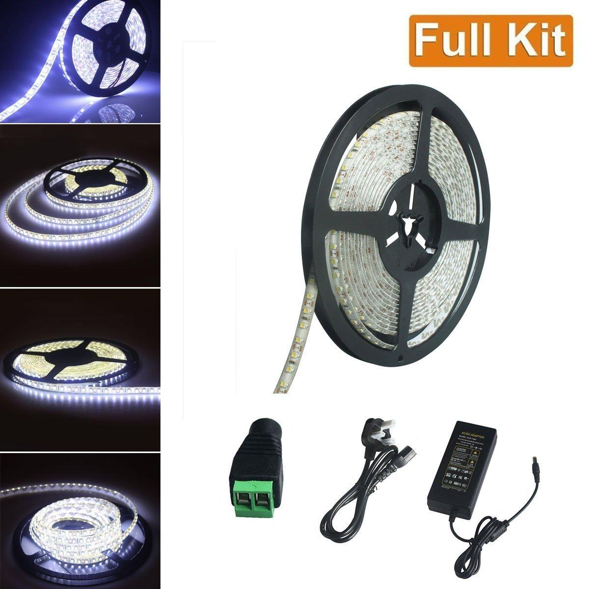 Buy sjp light led strip light kit164ft5m smd2835 ip65 waterproof sjp light led strip light kit164ft5m smd2835 ip65 waterproof dc12v aloadofball Choice Image