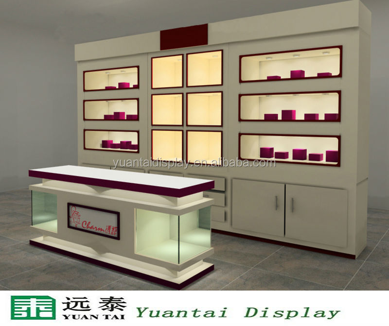 Nice 2014 Luxury Jewellery Shop Counter And Cabinet Furniture Design For Sale