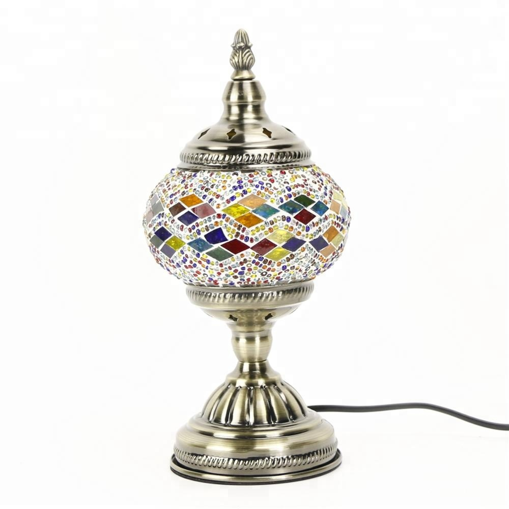 Tokin-lighting (TC1M01) Handmade Mosaic Art Turkish LED table <strong>Lamps</strong>