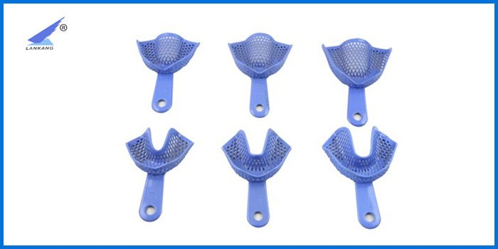 Dental Instruments Thermoforming Disposable plastic/Stainless Steel/Fluoride Fission Connected Dental Impression Tray