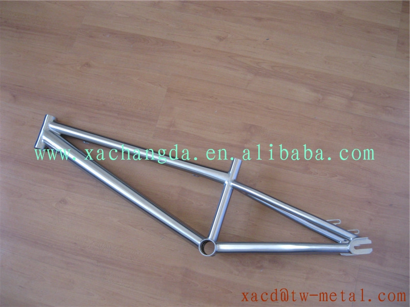 Titanium Bmx Bike Frame Bmx Frame With Integrated Head Tube With ...