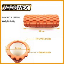 pilates foam roller High density Yoga Massage Foam Rollers with Grid EVA Foam roller