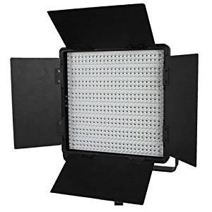 CowboyStudio CN-600SA 600 LED Photography Studio Video Lite Panel Sony V-Lock Battery Mount, Dimmer Switch, 15V Output