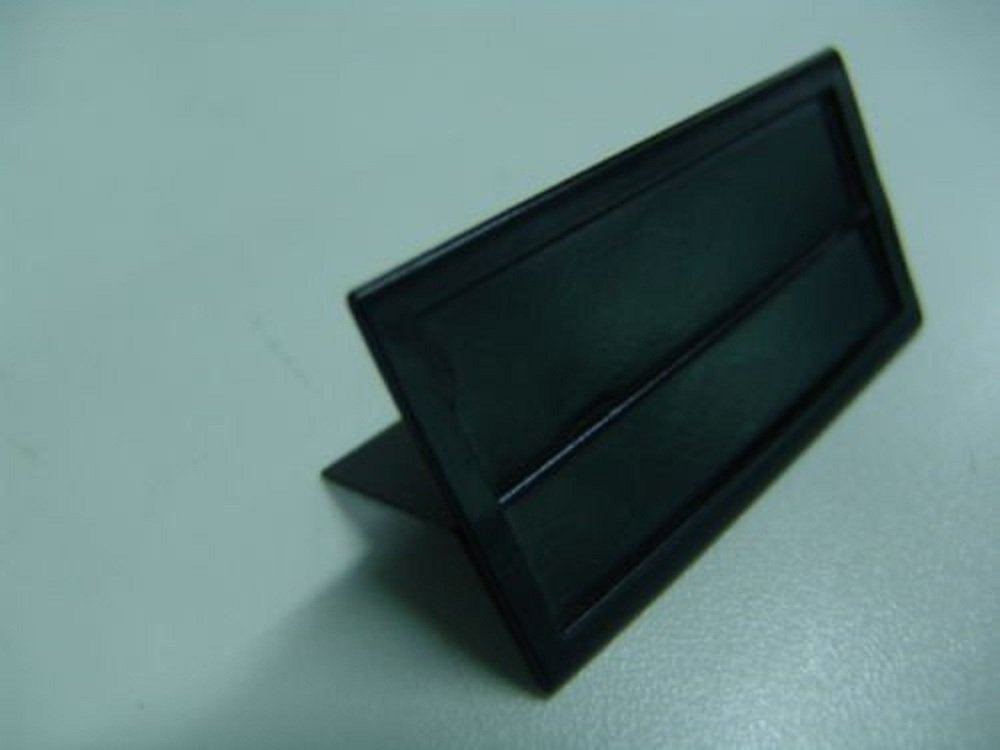 Fixture Displays Shelf Edge Price Tag Ticket Holder Metal pack of 20 10093-10pc