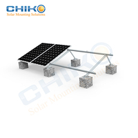 China supplier solar flat roof mounting and flat roof solar panel bracket for photovoltaic mounting system