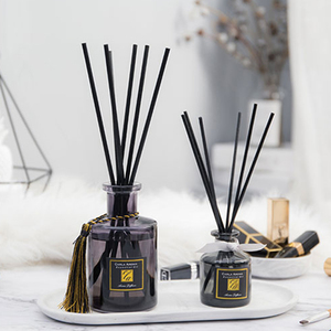 high quality aroma decorative glass reed diffuser bottle