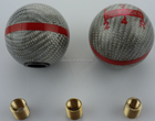 MUGEN CARBON FIBER RED 6 SPEED SHIFT GEAR KNOB CL7 CL9 FD2 FN2 DC5 S2000