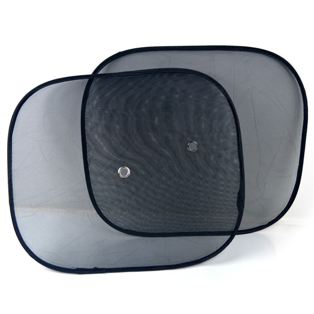 Black Side Car <strong>Sun</strong> Shade Rear Window Sunshade Cover Mesh Visor Shield Screen