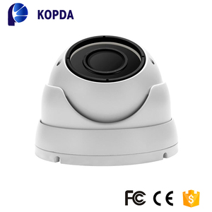 Three streaming H.264 metal smart onvif p2p rohs security ip dome camera