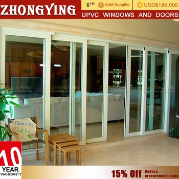 Exterior Automatic Triple Tempered Glass Cheap Glass Sliding Door Buy Glass Sliding Door Cheap