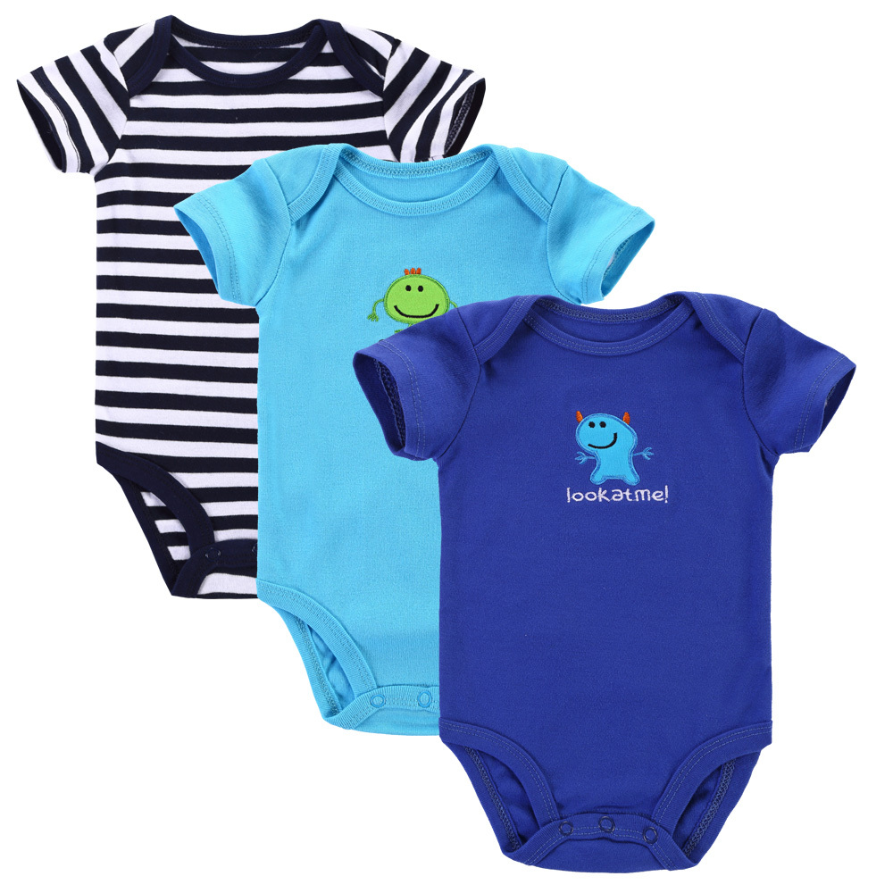 dbba7d50055b4a Buy 3pcs lot 2015 Baby Boys Girls Clothes Next Cute Infant Clothes Animal  100% Cotton Newborn Baby Rompers Baby Clothing Set in Cheap Price on  m.alibaba.com