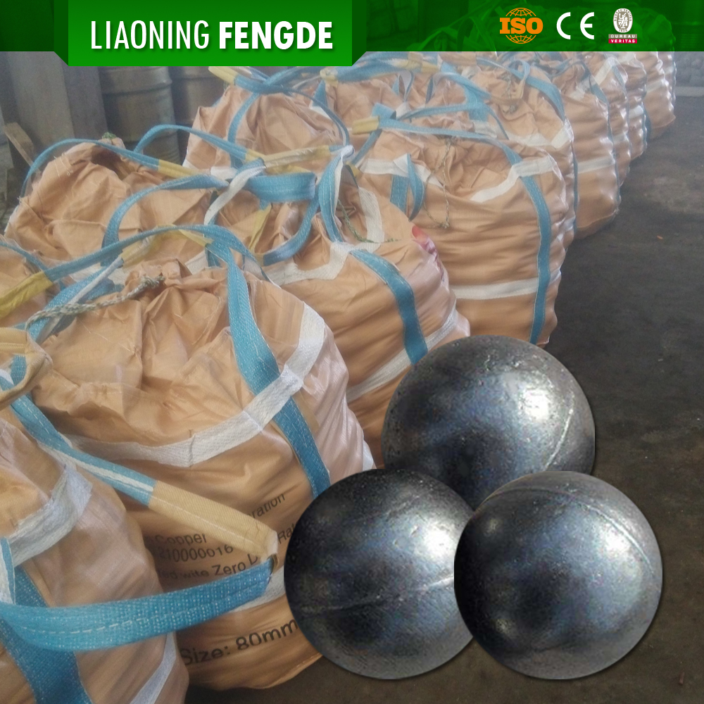 F&D low price grinding chrome steel ball manufacturer casting for mining