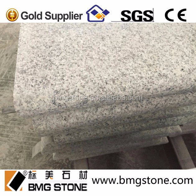 G603 Granite Bullnose Edging Swimming Pool Tiles, G603 Light Grey Pool Coping