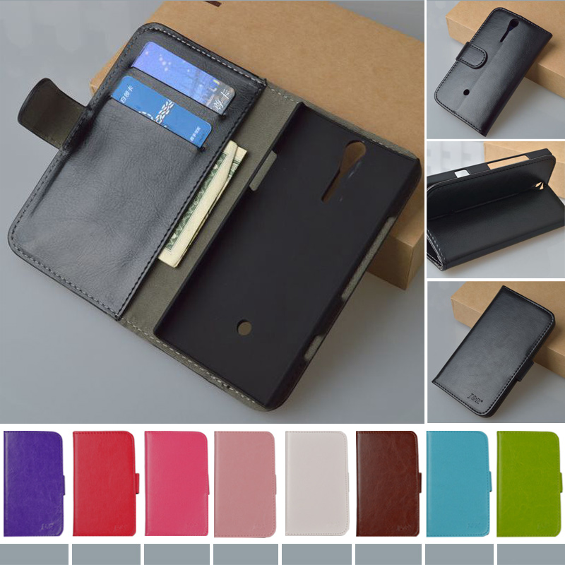 Luxury Wallet PU Leather Stand Flip Case For Sony Xperia S Lt26i,J&R brand Phone Cover for Sony Xperia SL Lt26ii, 9 colors