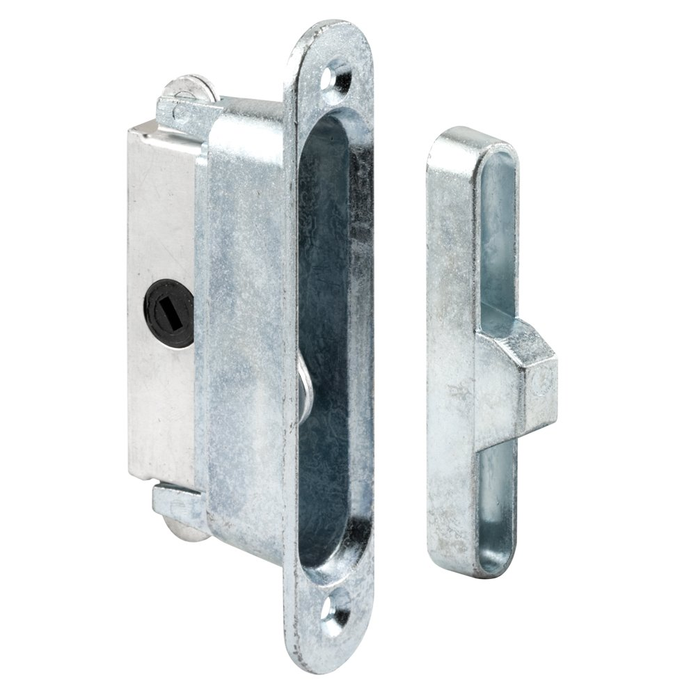 Prime-Line Products E 2126 Sliding Door Lock and Keeper for Wood or Aluminum
