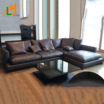 Factory Wholesale European Style Luxury Home Furniture L Shape 4 Seat  Leather Sofa Modern - Buy Leather Sofa Modern,Furniture Sofa,Leather Sofa  ...