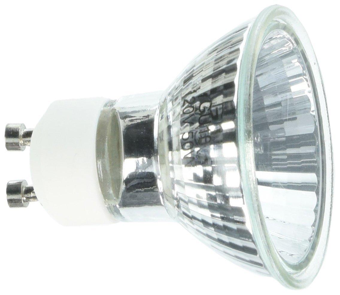 GU10-12V-20W 2 Pack GU10 Type Clear Halogen Bulb 2 20 Watt 12 Volt GU10-12V-20W eTopLighting