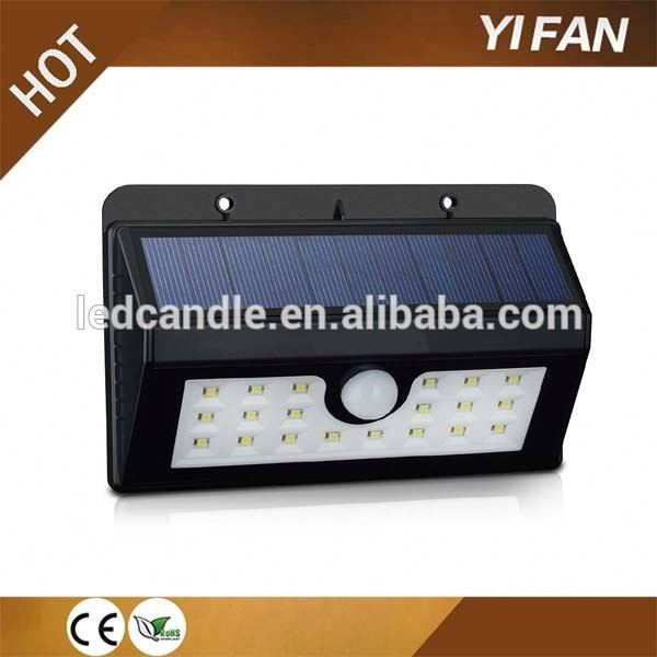 20 led High Quality Repair Solar Garden Light Lamp Partsed wall lamp