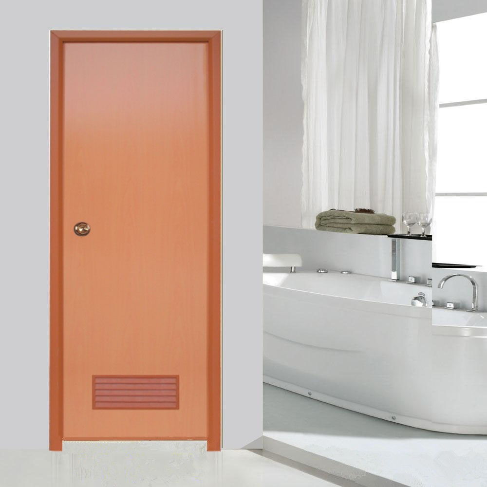 Wk P001simple And Practical Interior Pvc Bathroom Door With Pvc Sheets Door Panels Buy
