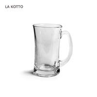 380ml clear beer glass mug plain drinking glass cup