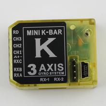 3Axis Gyro KBAR V2 5 3 4PRO K8 Flybarless Stabilization System FBL 450 500 550