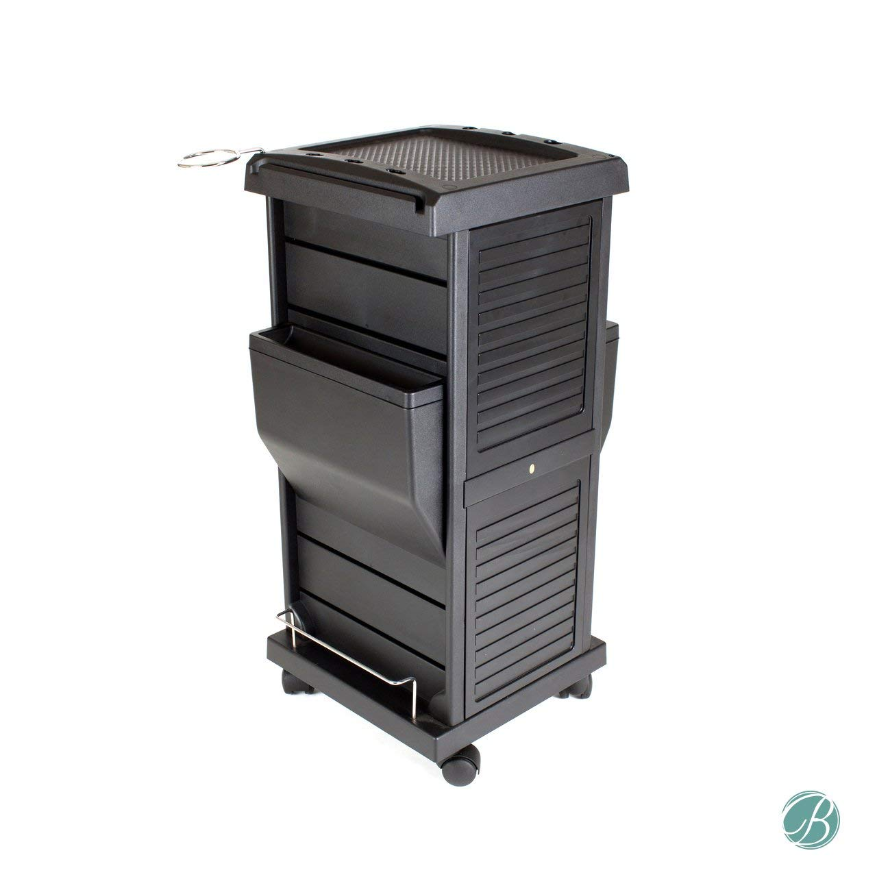 Claire Lockable Salon Trolley Cart Perfect for Hair Salon,Tattoo Studio, Spa, Office, Skincare, Day Spa Qty 1