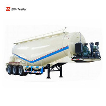 Factory Customized Transportation Fly Ash Limestone Cement Bulk Semi Trailer For Sale