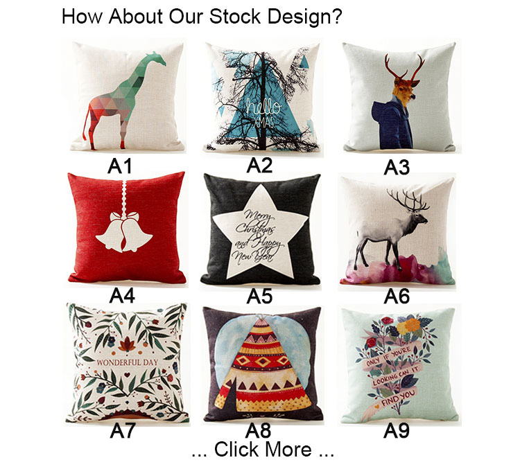 Ginzeal 2018 Decorative Blank Custom Latest Design Cushion Cover