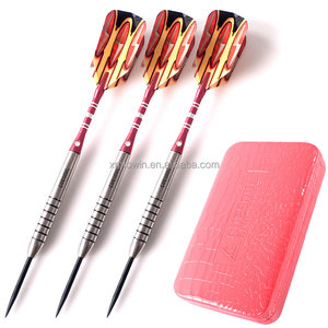 CUESOUL Luxury Packed Steel Tip Darts, Bristel Dartboard Game Darts