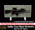1 6 Scale Model Weapons Display Set Stand For 1 6 Action Figure Soldier Body Model