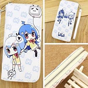 Wallet Men Women Cool PU Leather Money Fold Anime Purse Cosplay Long TV Floating Little sister Sword Art Online Anime