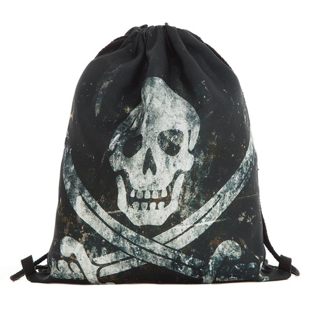 Get Quotations · VIASA Rucksack Bookbag Daypack Sack Bag for Girls Soft  Polyester Sackpack Drawstring bag Sport Bag Unisex 3c6feaf712