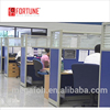 Saudi Arabia market hotselling design half glass wall office cubicle partition (FOH-32HJT)