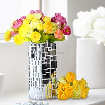 Diy Mosaic Crafts Mosaic Kitmirror Mosaic Glass Vase Buy Mirror